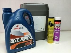 oleje hydrauliczne smary