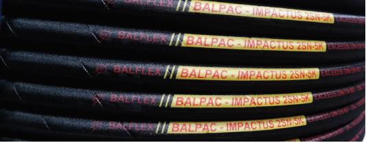 balflex węże hydrauliczne impactus