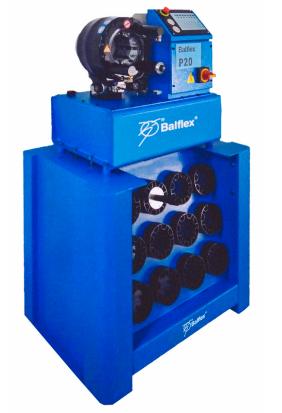 zakuwarka prasa do węży przewodów ciśnienia balflex p20