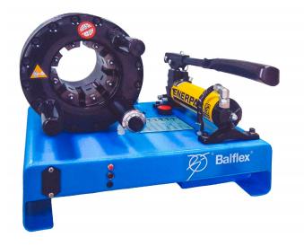 zakuwarka prasa z pompą ręczną Balflex